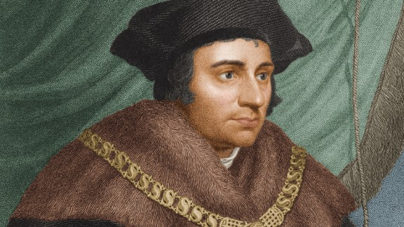 St. Thomas More is the patron saint of attorneys, but he was put to death for defying his powerful client: English King Henry VIII. Moore, an ardent Catholic, refused to go along with Henry