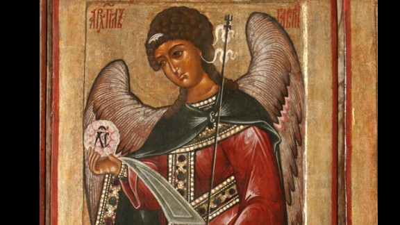 St. Gabriel the archangel is the patron saint of broadcasters. If you needed to announce big news in the Bible, from Daniel