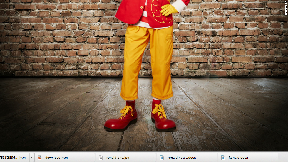 Whatever you do, take care of your shoes. Fear not. Ronald still wears his big reds.