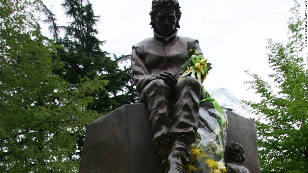 A memorial statue to Senna stands in the town of Imola, which is to host five days of events to commemorate the 20th anniversary of his death.