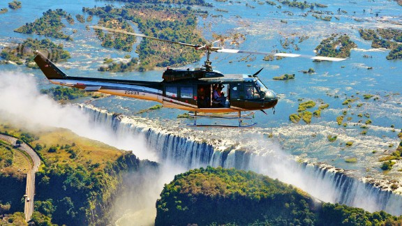 """There's more to wildlife tourism than safaris. Although 96% of operators questioned did offer them, bird watching tours, whale watching and a variety of treks also came under the UNWTO's census. One of the most popular non-safari activities in Zambia is a visit to Victoria Falls -- 30% of tourists will make the trip to the 1,708-meter wide falls, the """"largest curtain of water in the world."""""""