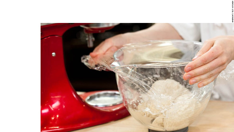 3. Cover bowl with plastic wrap and let sit at room temperature for 30 minutes.