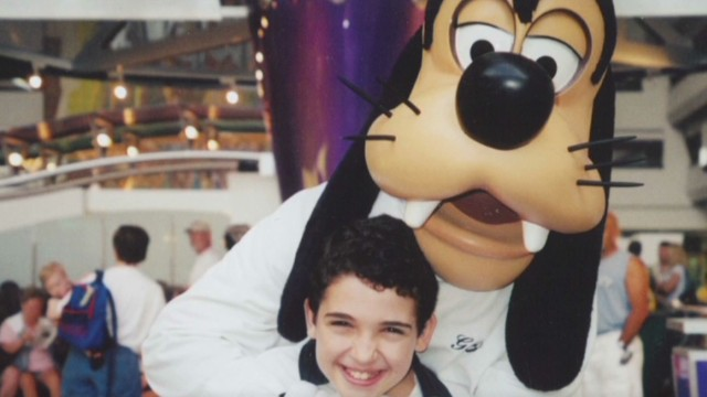 Father and autistic son bond over Disney