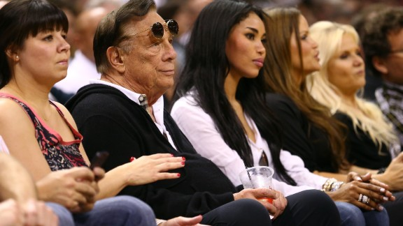 Donald Sterling of the Los Angeles Clippers watches the San Antonio Spurs play against the Memphis Grizzlies during Game One of the Western Conference Finals of the 2013 NBA Playoffs at AT&T Center on May 19, 2013 in San Antonio, Texas.