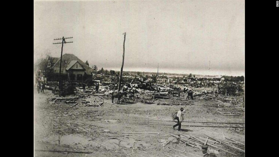 "<strong>8.</strong> The ""Amite/Pine/Purvis Tornado"" killed 143 people and injured 770 on April 24, 1908. The storm left only seven houses intact in Purvis, Mississippi, and also caused damage in Amite, Louisiana."