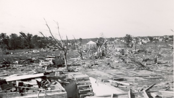"""10. The """"Flint Tornado"""" killed 115 people and injured 844 on June 8, 1953, in Flint, Michigan. The tornado was the deadliest twister ever recorded in the state."""