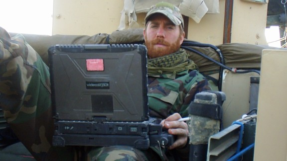 Michael Golembesky served in an elite U.S. Marines special forces unit in Afghanistan.