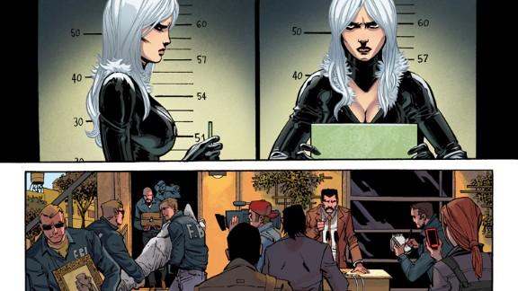 """Another frame from """"Amazing Spider-Man"""" #1."""