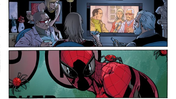 """More detail from """"Amazing Spider-Man"""" #1."""