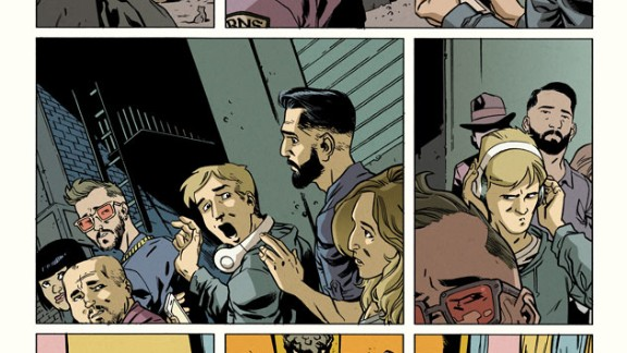 """More of the flashback in """"Amazing Spider-Man"""" #1."""