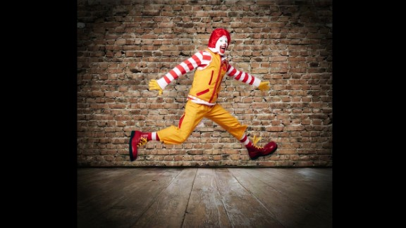 The famous fast-food clown is back in the spotlight as McDonald's re-introduced Ronald McDonald on Wednesday, April 23. Ronald, who has been the face of the company since 1963, was shown to the public with a fresh wardrobe that included cargo pants, a technical vest, and a red and white striped rugby shirt. But he isn't the only well-known clown in the biz. Take a look at other memorable clowns from throughout the years.