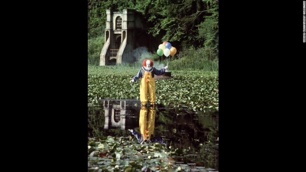 "If Tim Curry's portrayal of Pennywise the Dancing Clown in Stephen King's ""It"" wasn't enough to scare you, nothing could. This demonic, child-killing clown torments a group of social outcasts and feeds on their fears after killing them. Once defeated, Pennywise returns to the children 30 years later to finish off what was started."