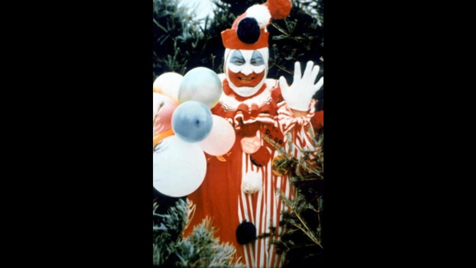 Last but not least, Pogo the Clown, probably the most notable and horrific clown to date. John Wayne Gacy, who dressed as Pogo, was convicted in 1980 of killing 33 men and boys in the Chicago area. Gacy worked as a contractor and part-time party clown, who lured his male victims with promises of construction jobs, drugs, alcohol or money for sex, or by posing as a police officer.