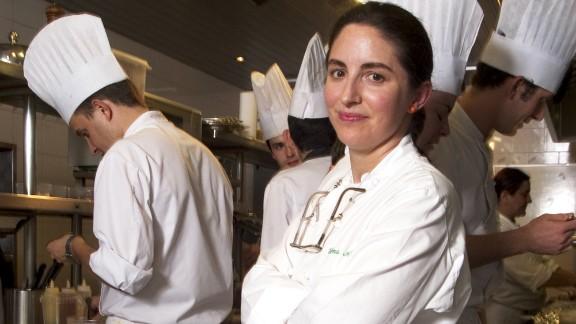 8. Fourth generation chef Elena Arzak cooks at her father Juan Mari Arzak