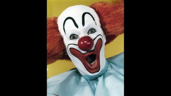 Promoter and entertainer Larry Harmon portrays Bozo the Clown. Although Harmon was not the original Bozo, he appeared as Bozo in dozens of television shows for decades and licensed the name to other Bozos around the world. Another notable Bozo would include Willard Scott, who became the first Ronald McDonald.