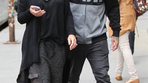 Pink and husband Carey Hart enjoy a couple