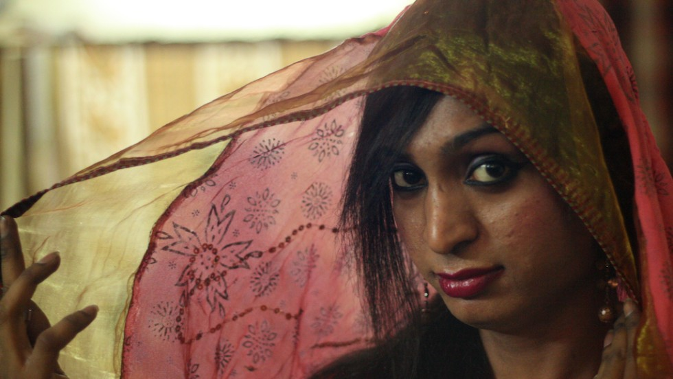 For Ritika, 21, a transgender, completing her college education is her priority. (Photo credit: Omar Khan)