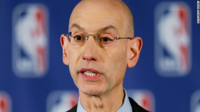 NBA Commissioner Adam Silver wants women to make up half of all new referees joining the league.