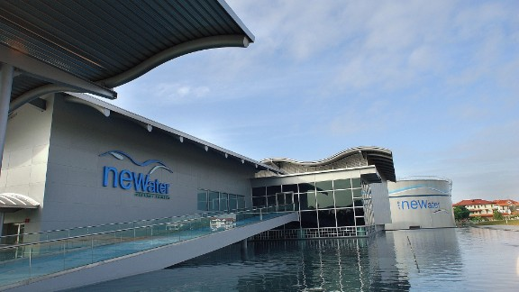 NEWater meets up to 30% of Singapore's water needs. There are plans to triple the current capacity by 2060.