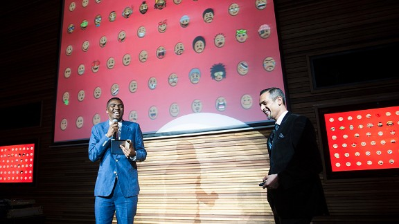"""He adds that the company wanted to include Africa in all digital trends, and show that innovation is not something that only happens in the West: """"With the Oju Africa emoticons, we are sharing African soul, funk and unparalleled smiles with the world,"""" he explains."""