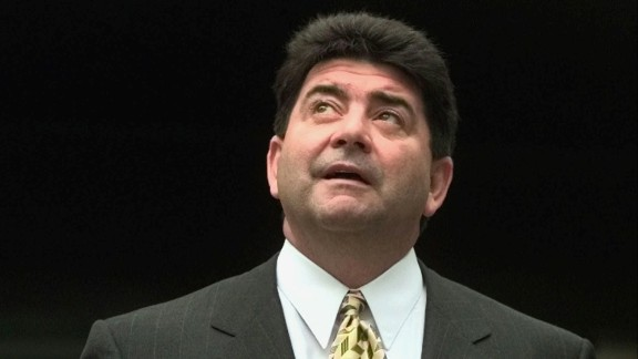 The NFL suspended San Francisco 49ers owner Eddie DeBartolo Jr. for his role in a racketeering scandal tied to riverboat casino licenses. DeBartolo pleaded guilty in 1998 to felony charges of failing to report an extortion case, according to Bleacher Report. By 2000 he was forced to cede control of the team to his sister.