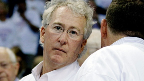 The NBA slapped Aubrey McClendon, partial owner of the Oklahoma City Thunder, with a $250,000 fine in 2007 after he told an Oklahoma newspaper that he hoped to move the team, then known as the Seattle SuperSonics, to Oklahoma.