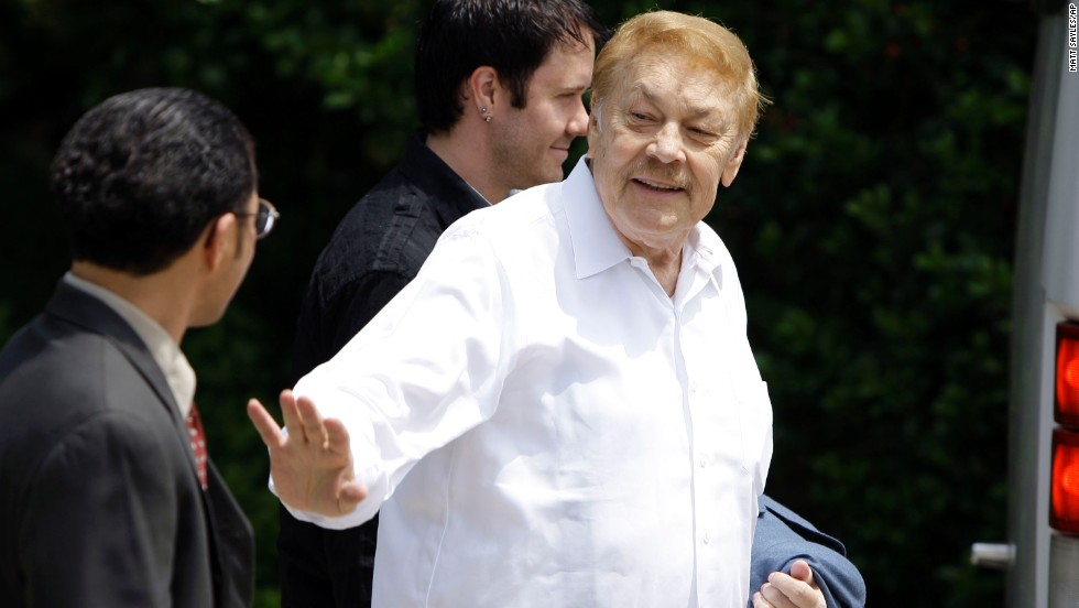 The NBA fined former Los Angeles Lakers owner Jerry Buss $25,000 and suspended him for two games in 2007 after his conviction on a misdemeanor drunk driving charge. Buss died in 2013.