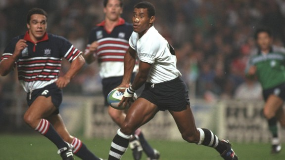 As well as sevens success, Serevi also represented Fiji at three Rugby World Cups -- in 1991, 1999 and 2003.
