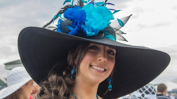 """Sometimes, bigger is better. Her smile is what caught me right away,"" McGraw said of this 2011 look. Wearing a hat to the Kentucky Derby is believed to be good luck, and your hat is meant to be a reflection of your personality."