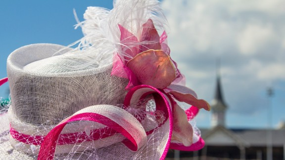 """Out of all the hat photos I have taken, this is my favorite,"" photographer John McGraw said. The 2014 Kentucky Derby will mark his 20th year in attendance. You can bet McGraw will be hat-tipping the boldest hat aficionados by taking their photos."