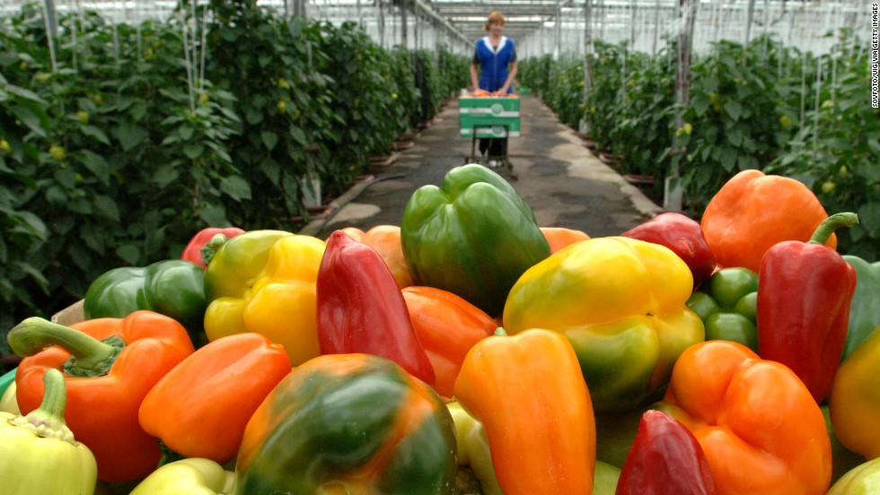 Sweet bell peppers round out the list of 2018's dirty dozen. Almost 90% of sweet bell pepper samples contained residual pesticides. This vegetable may contain fewer pesticides than other foods on the list, but the pesticides tend to be more toxic to human health, the group says.
