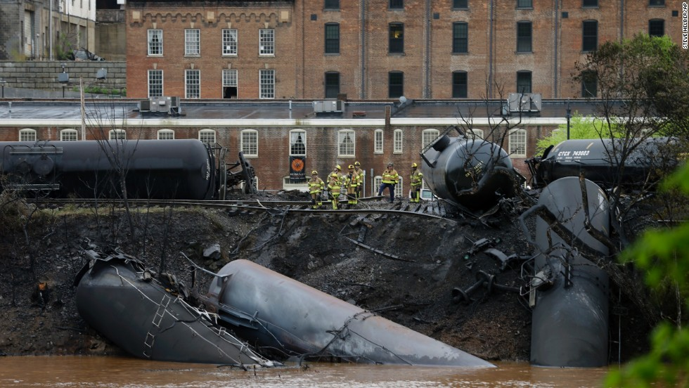 Image result for train derail in water