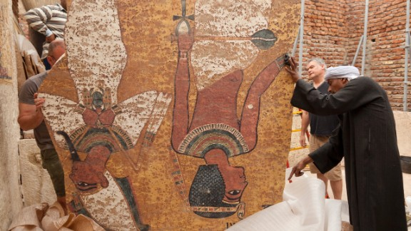 A project to produce an exact replica of the tomb of Tutankhamun took four years.