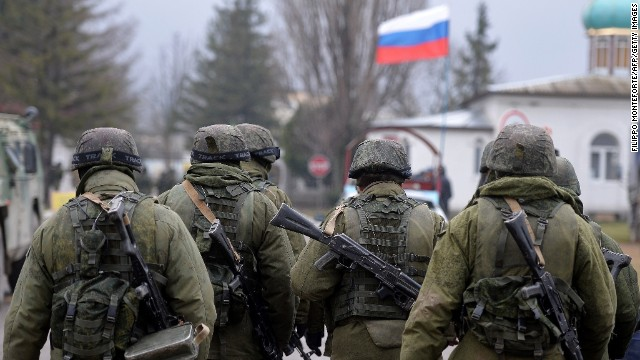 Russian troops in Ukraine