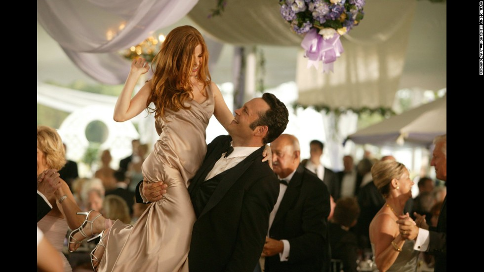 "Everyone loves a good wedding movie -- especially when the guests are behaving terribly. Here are a few of our favorite faux pas from films. ""<strong>Wedding Crashers"": </strong>Vince Vaughn and Owen Wilson make a habit of crashing strangers' weddings, feasting on the freebies and occasionally making, uh, friends with tipsy bridesmaids such as Isla Fisher, left, in this 2005 comedy."