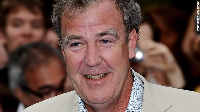 Caption:LONDON, ENGLAND - MAY 31: Presenter Jeremy Clarkson attends the world premiere of 'Prometheus' at the Empire Leicester Square on May 31, 2012 in London, England. (Photo by Ian Gavan/Getty Images)