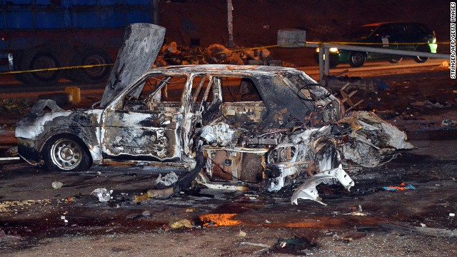 Deadly bus station blast in Abuja
