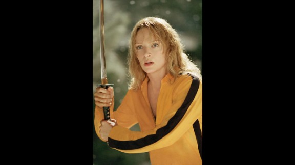 """Kill Bill"" Volumes 1 and 2 (2003, 2004) -- The body count is high in these Quentin Tarantino movies as Uma Thurman"