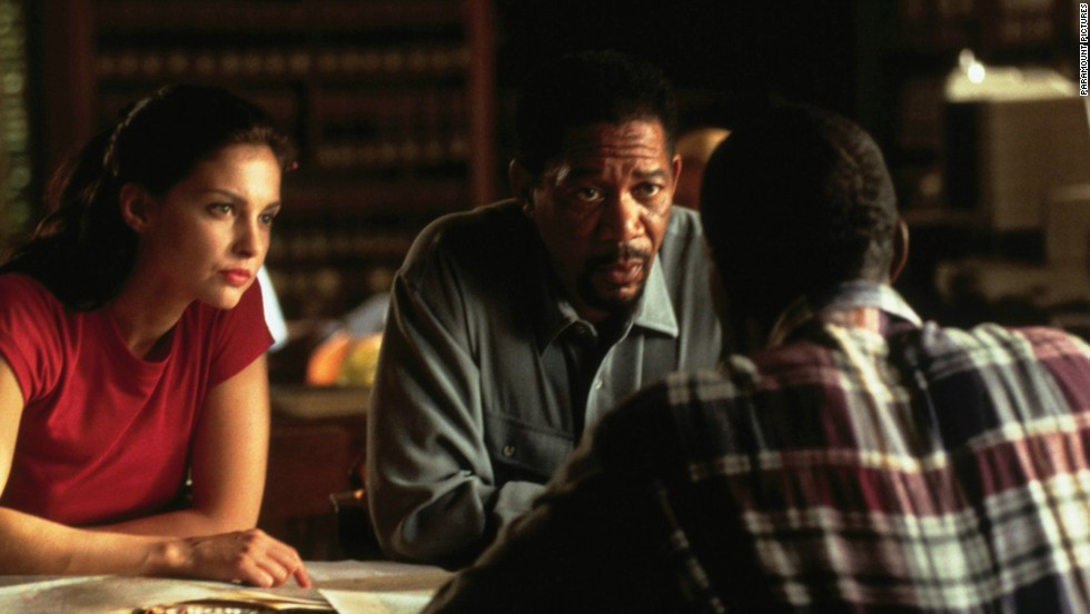 "<strong>""Kiss the Girls "" </strong>(1997) -- Based on the James Patterson novel, this thriller stars Morgan Freeman and Ashley Judd. (Netflix)"