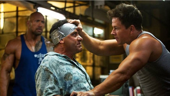 """Pain and Gain"" (2013) --  Crime, comedy and weightlifting come together in this based-on-a-real-life story about a kidnapping gone awry starring Mark Wahlberg, Dwayne ""The Rock"" Johnson and Anthony Mackie.  Michael Bay directs. (Netflix and Amazon)"