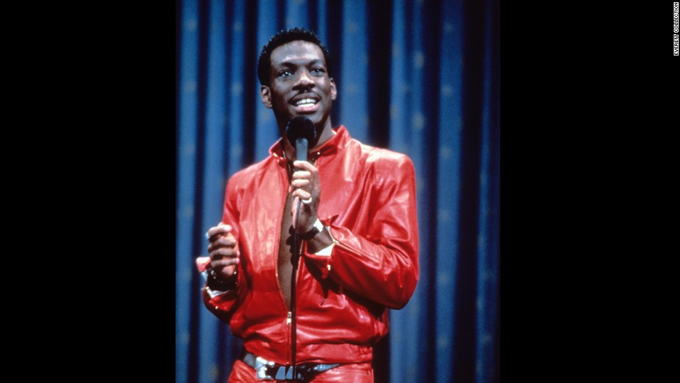"<strong>""Eddie Murphy: Delirious"" </strong>(1983) -- Five words for you: ""Uncle Gus and Aunt Bunny."" Before he was the voice of Donkey in ""Shrek"" Murphy was a red leather clad comic stalking the stage in this stand-up film. (Netflix)"