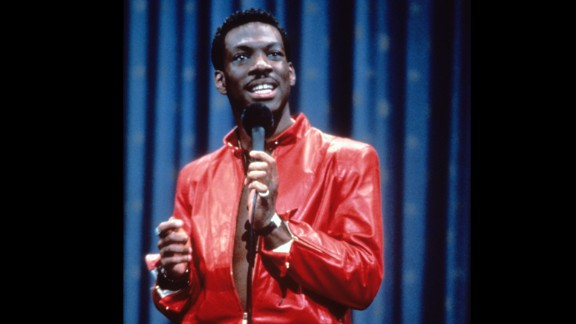 """Eddie Murphy: Delirious"" (1983) -- Five words for you: ""Uncle Gus and Aunt Bunny."" Before he was the voice of Donkey in ""Shrek"" Murphy was a red leather clad comic stalking the stage in this stand-up film. (Netflix)"