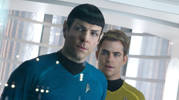 """Star Trek Into Darkness"" (2013) -- Trekkies rejoice! JJ Abrams directs the latest of this franchise which stars Zachary Quinto, Zoe Saldana and Benedict Cumberbatch. (Netflix and Amazon)"