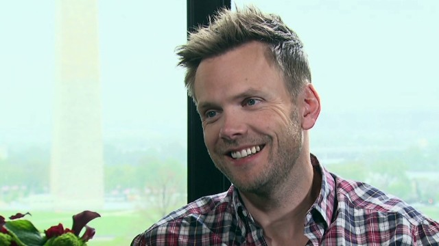Web only: Joel McHale and fish
