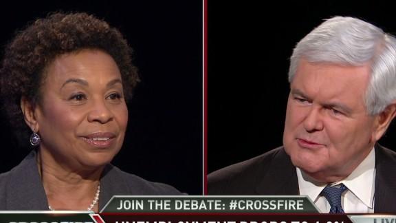 Crossfire Newt Barbara Lee min wage debate_00001212.jpg