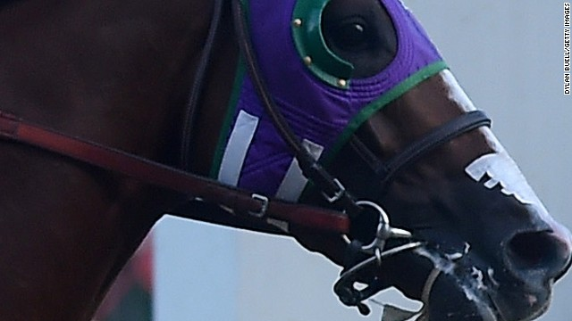 Will nasal strips end Triple Crown bid?