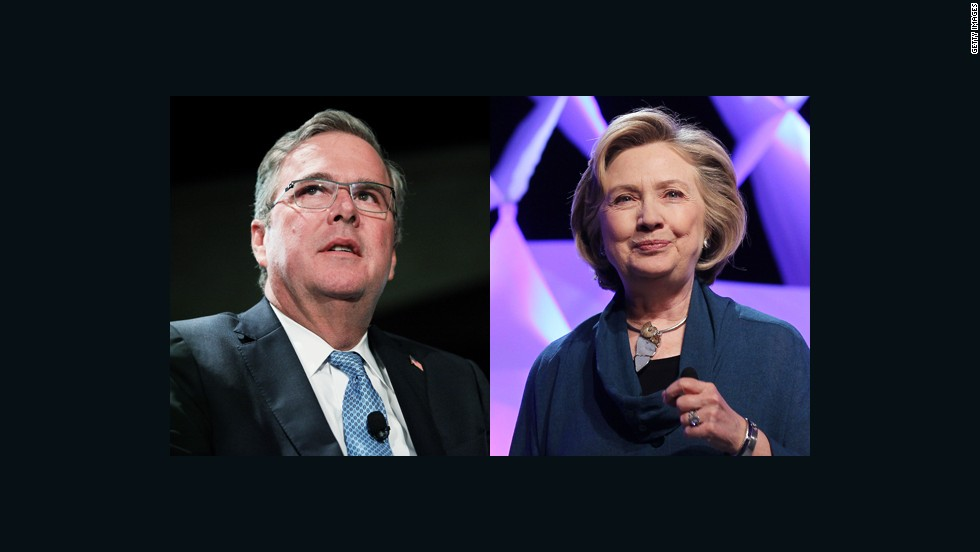 A brief history of Clintons vs. Bushes