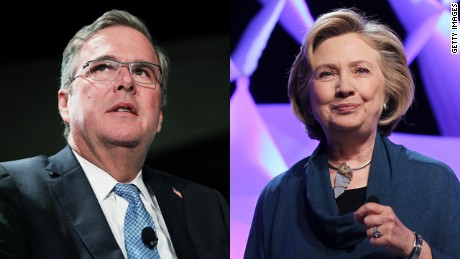 The Bush and Clinton families: A relationship roller coaster