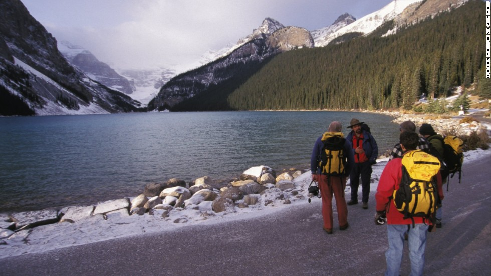 "<strong>Canada </strong>ranked at number five on the OECD Better LIfe Index. <a href=""http://www.pc.gc.ca/eng/pn-np/ab/banff/index.aspx"" target=""_blank"">Banff National Park</a> may be one of the reasons why. Canada's oldest national park spans more than 2,500 square miles of mountains, glaciers, forests and lakes. The OECD praises Canadians, who enjoy above the average quality of life in all but one category -- the work-life balance."
