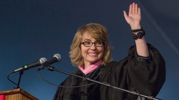 """Former Rep. Gabrielle Giffords majored in sociology and Latin American history. At Bard College's commencement ceremony on May 25, 2013, she said, """"Pursue your passion, and everything else will fall into place. This is not being romantic. This is the highest order of pragmatism. You should do what you were put here to do — that is the most certain key to success and happiness."""""""
